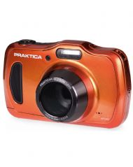 PRAKTICA Luxmedia WP240 Camera Orange 20MP 4x Internal Optical Zoom Waterproof